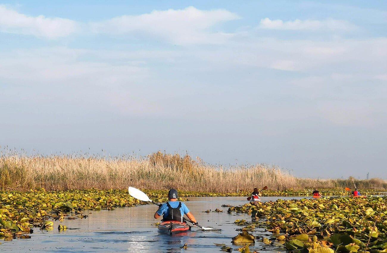 Excursie delta dunarii Parches - spre lacul Câșla